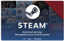 $1 STEAM GIFT CARD
