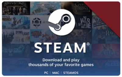 $50 STEAM GIFT CARD