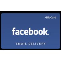 $50 FACEBOOK GIFT CARD
